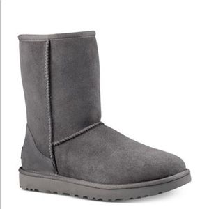Grey UGG boots- size 7.